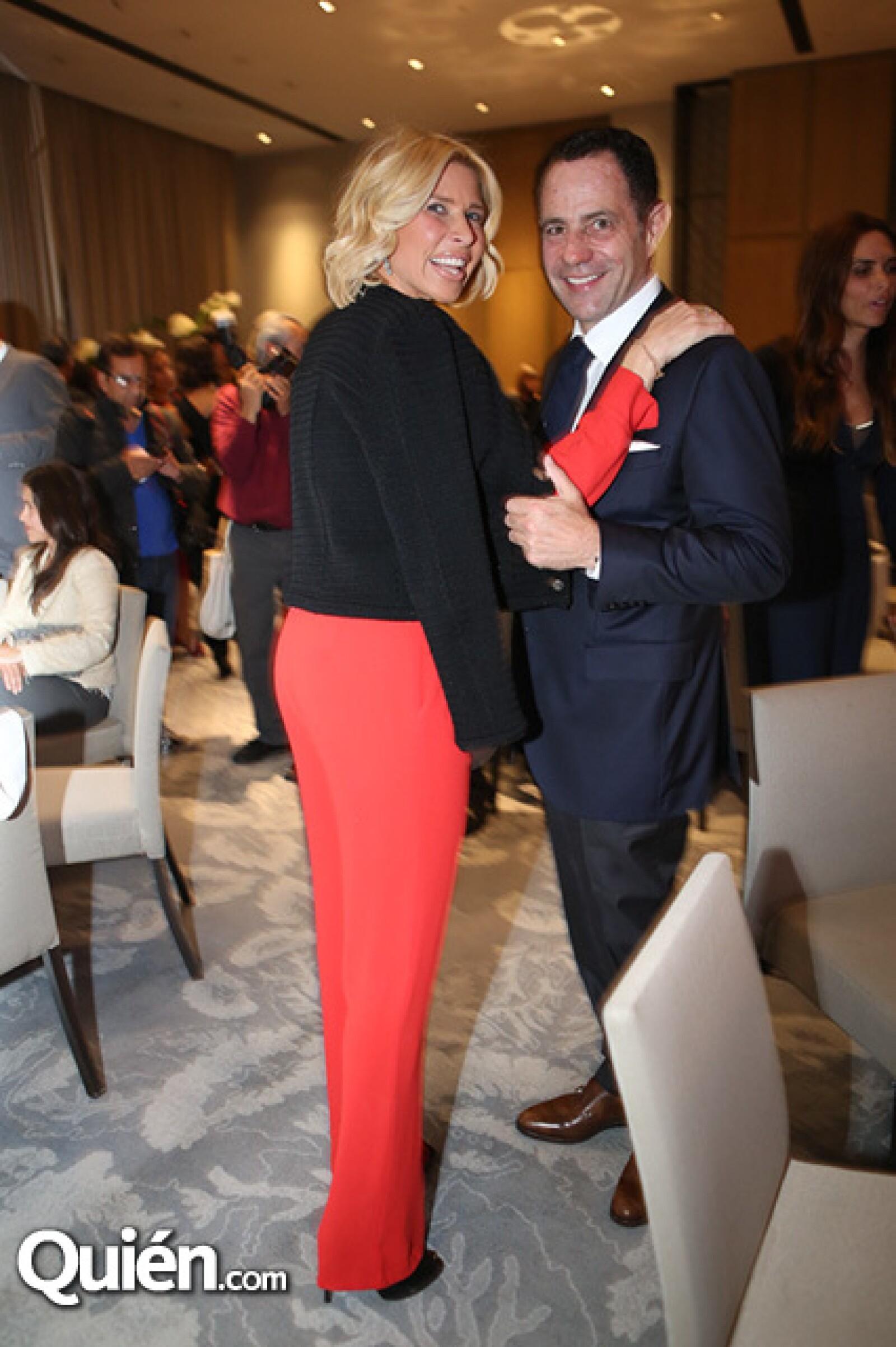 Beatriz Pasquel y Sergio Berger