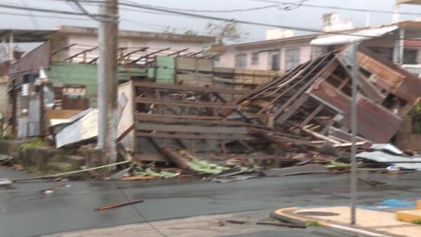El huracán María deja una estela de destrucción en Puerto Rico