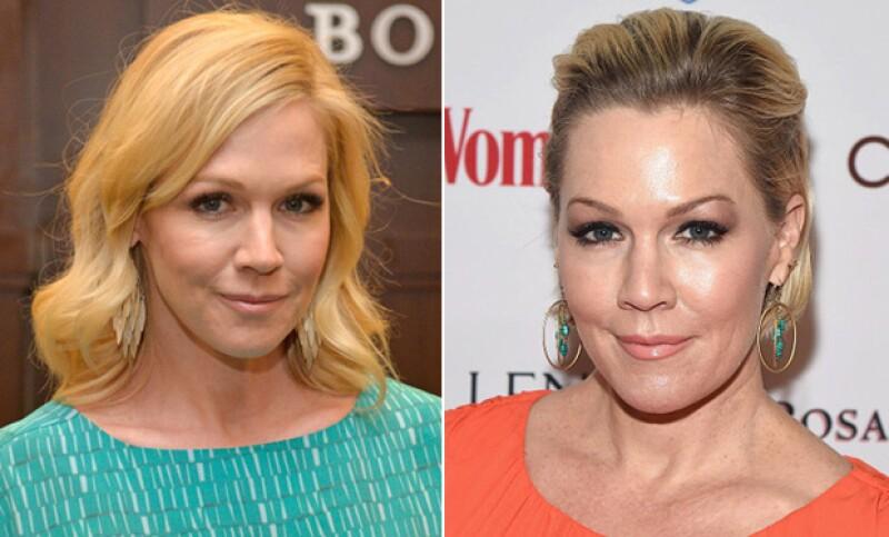 Otro comparativo de los cambios en la cara de la actriz.