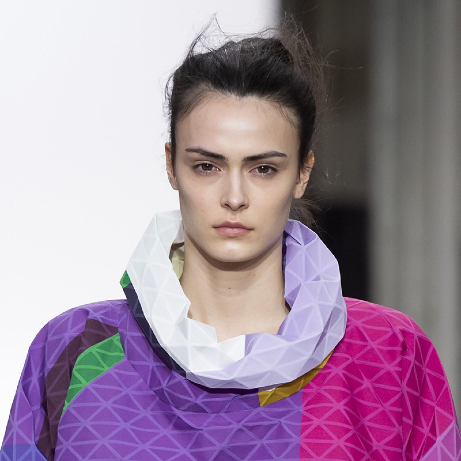 PFW-Paris-Fashion-Week-Runway-Pasarela-Beauty-Look-Belleza-Issey-Miyake