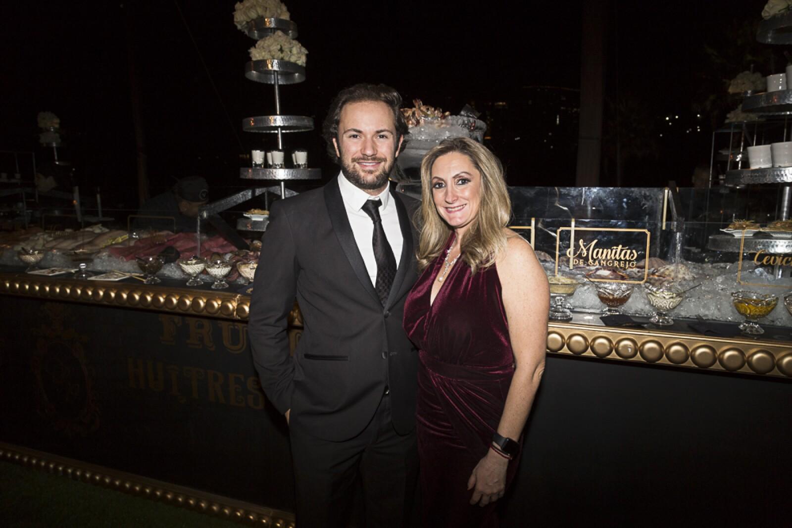 Isaac y Vicky Cherem