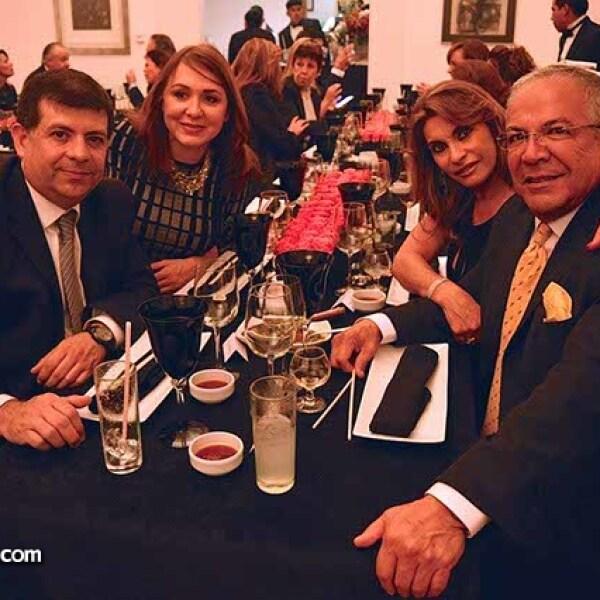 Alonso Mugica,Griselda Mugica,Mónica Amor y Carlos Vilches.