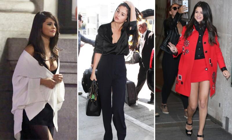 La cantante ahora presume escotes y sexy outfits de manera regular.
