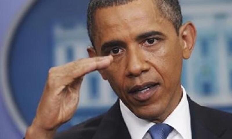 """""""Nunca hemos cesado los pagos de nuestra deuda y no lo haremos ahora"""", dijo Obama. (Foto: Reuters)"""