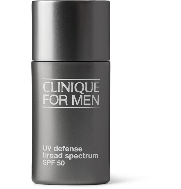 UV Defense Broad Spectrum SPF50, Clinique for Men.