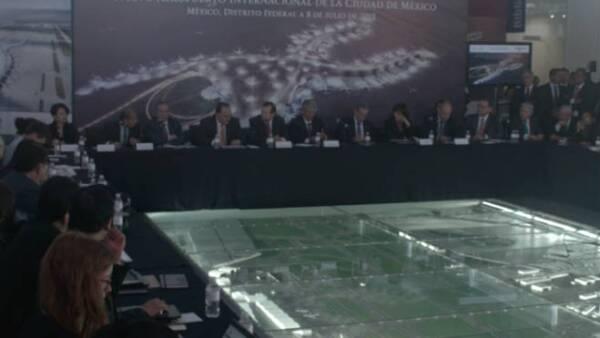 SCT anuncia licitaciones para el nuevo aeropuerto
