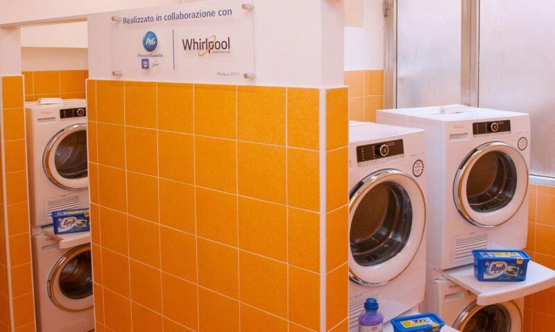 Lavandería para los pobres