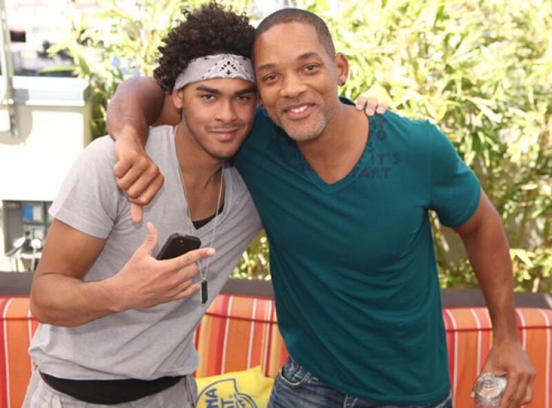 Trey y Will smith parecen hermanos.