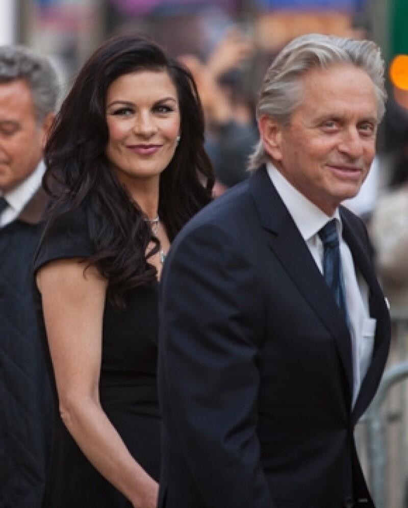 Michael y Catherine en abril de 2012.