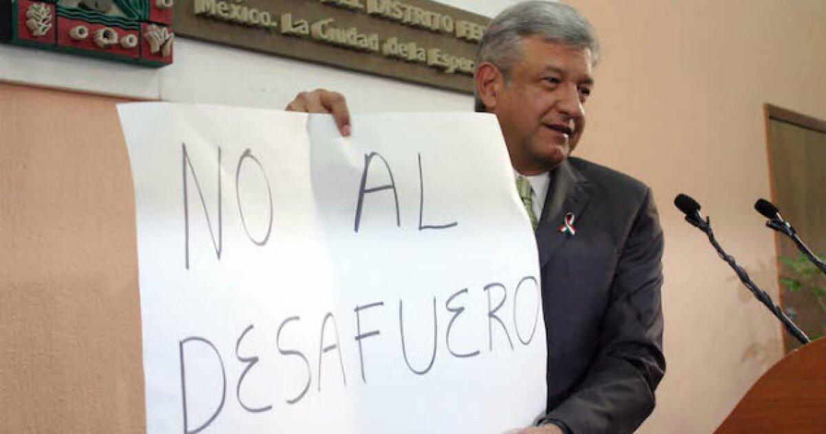#BuróParlamentario | Cuando el desaforado se apellidaba López Obrador