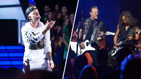 Justin Bieber vs Metallica