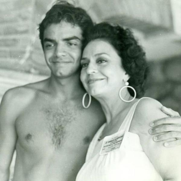 Eugenio Derbez y Silvia Derbez