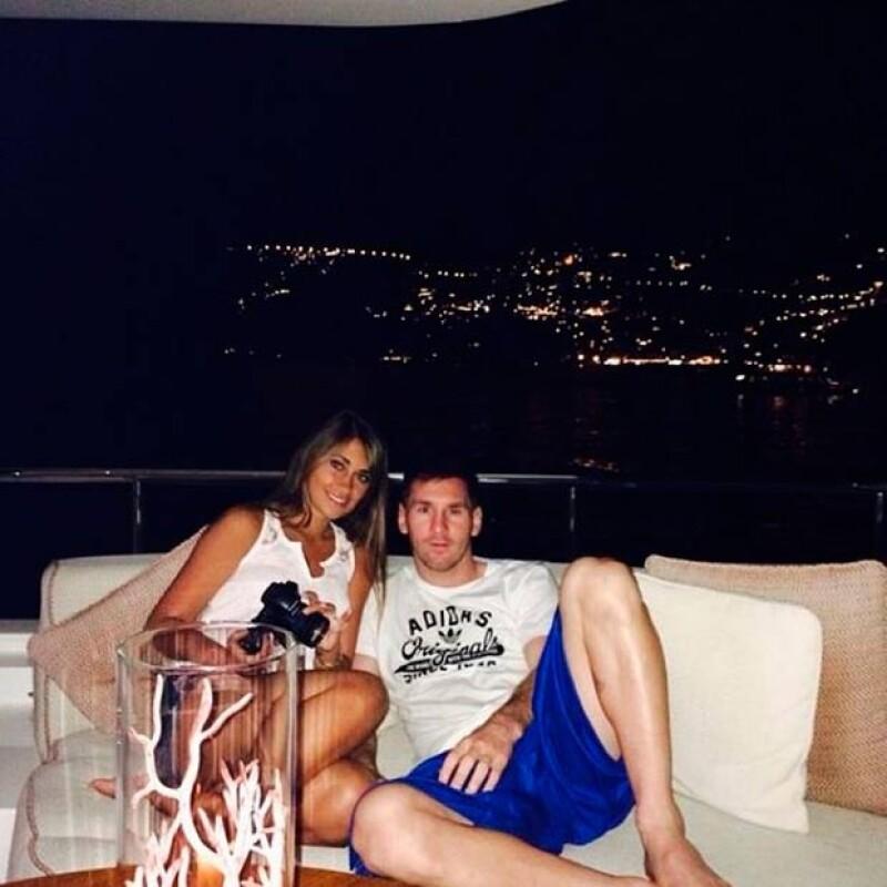 La pareja ha compartido fotos del viaje en sus redes sociales.