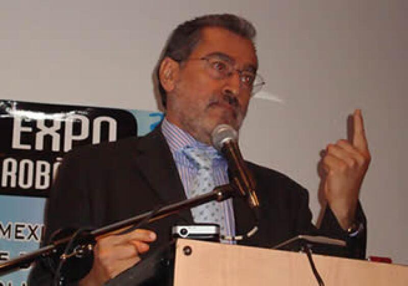 Leonardo Ríos, director adjunto de Desarrollo Tecnológico y Negocios de Innovación del Consejo Nacional de Ciencia y Tecnología (Conacyt). (Foto: ECP)