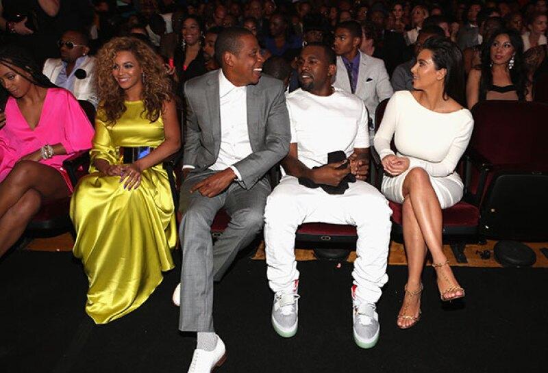 Los cuatro eran inseparables y se les podía ver en muchos premios juntos.