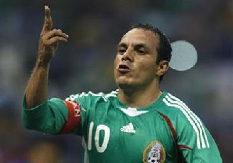 Blanco celebra el gol anotado a Honduras. (Foto: Reuters)