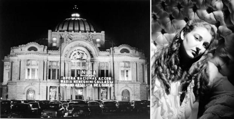 María Callas, la soprano más conocida del Siglo XX hizo su debut en Bellas Artes en 1950, en donde fue calificada de `aburrida´.
