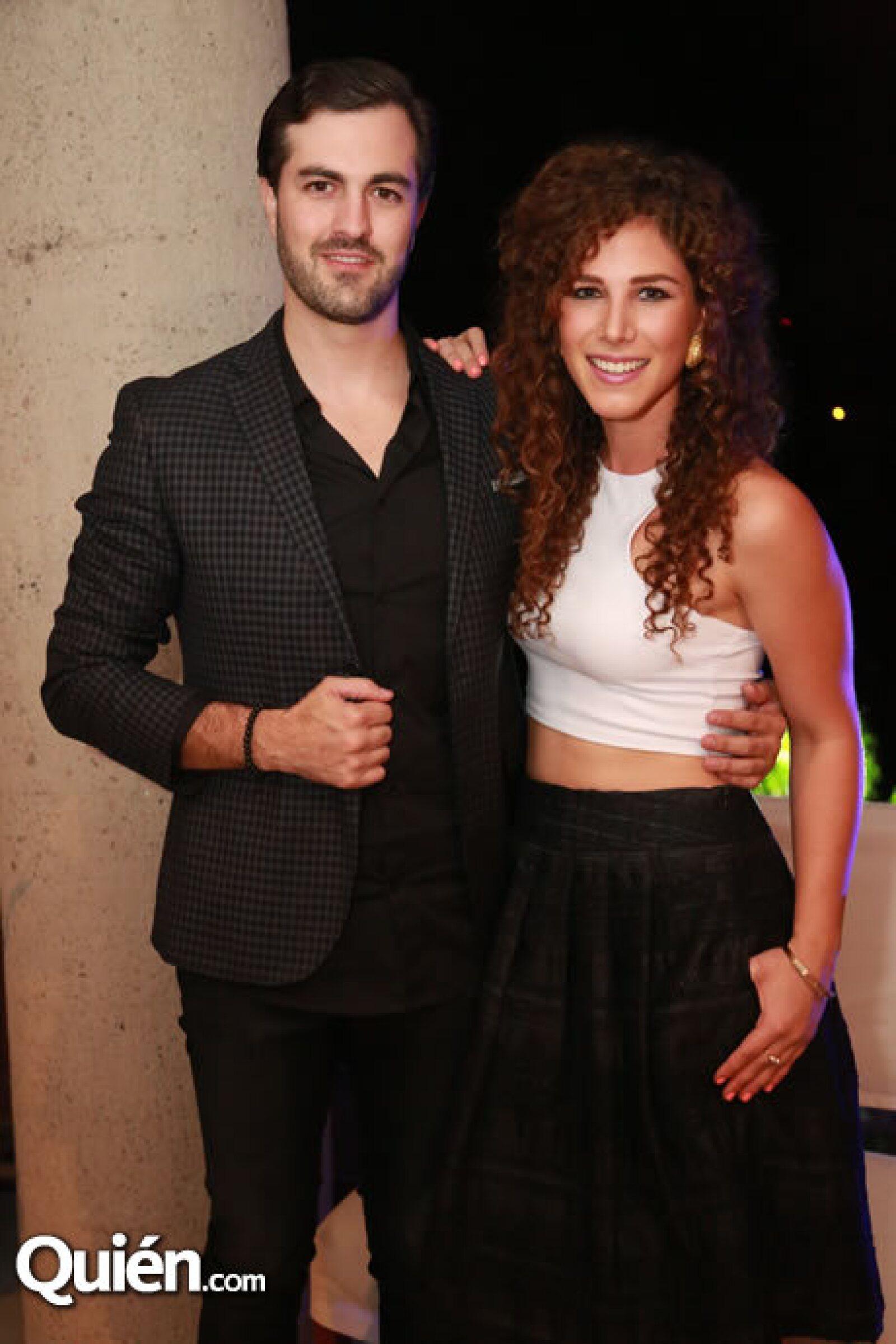 Humberto González y Chantal Chalita