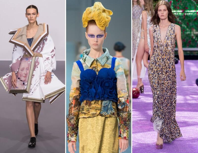 Wearable art: La propuesta de Viktor & Rolf, Maison Margiela y Christian Dior para otoño-invierno 2015.