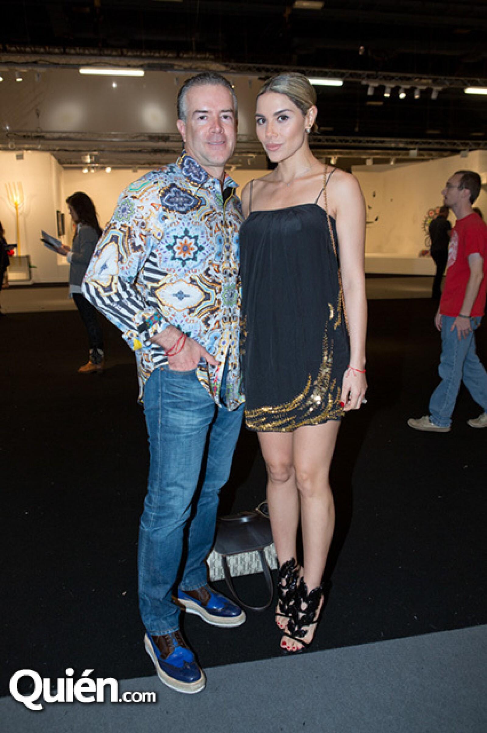 Raúl Rocha y Paulina Petterson