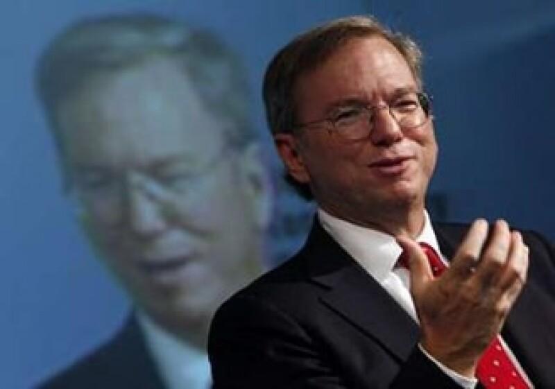 El presidente ejecutivo de Google, Eric Schmidt, asegura que lo peor de la crisis ya pasó. (Foto: Reuters)