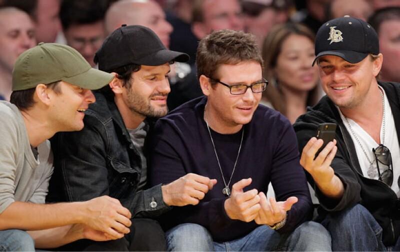 Tobey Maguire, Kevin Connelly y Leonardo Dicaprio
