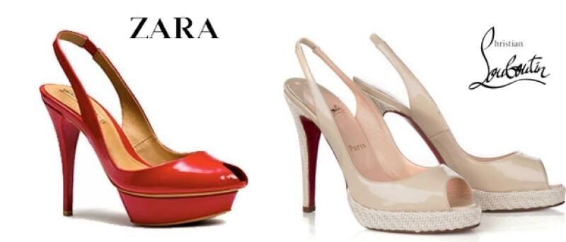 El zapatero francés acusó a la marca Zara por copiar su suela roja, sin embargo luego de cinco años la corte declinó a favor de la tienda española