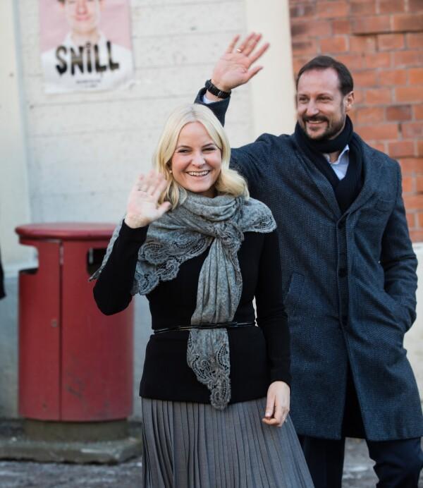 Príncipe Haakon de Noruega y Mette-Marit
