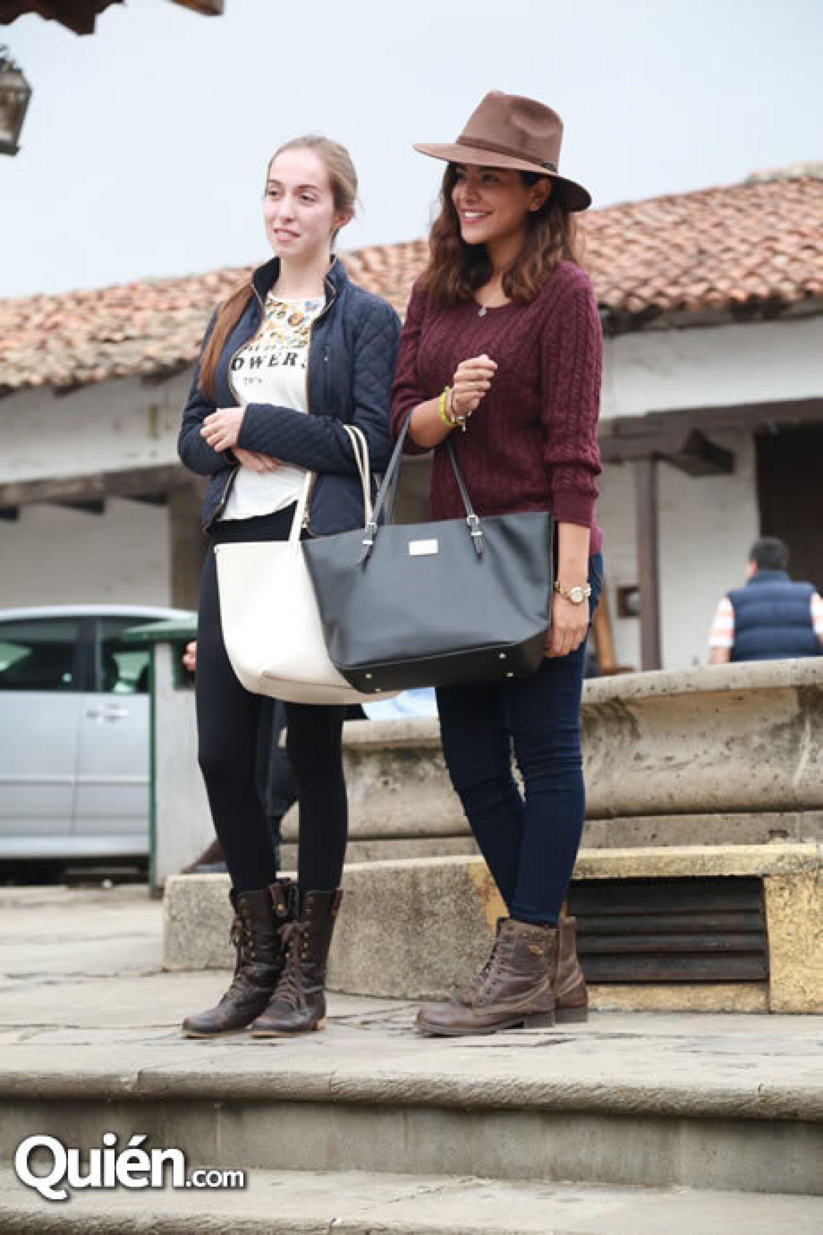 Ana Vélez y Fernanda Castellanos