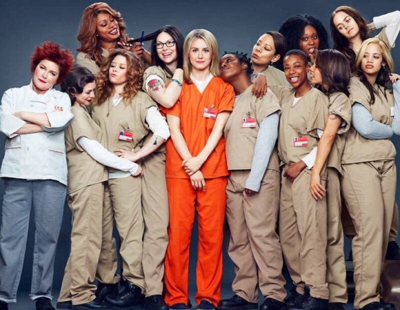 El elenco de Orange Is The New Black.