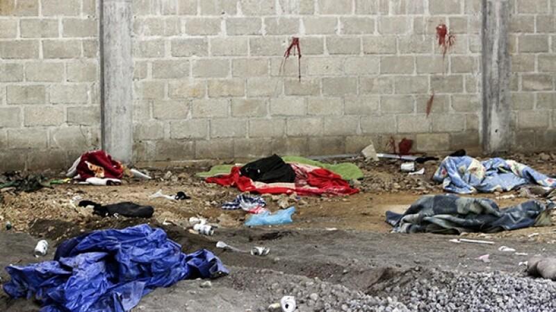 En una bodega en Tlatlaya, Estado de México, murieron 22 civiles tras un operativo de militares mexicanos
