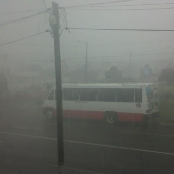 lluvia intensa en veracruz