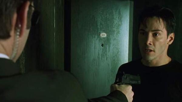 Hugo Weaving y Keanu Reeves