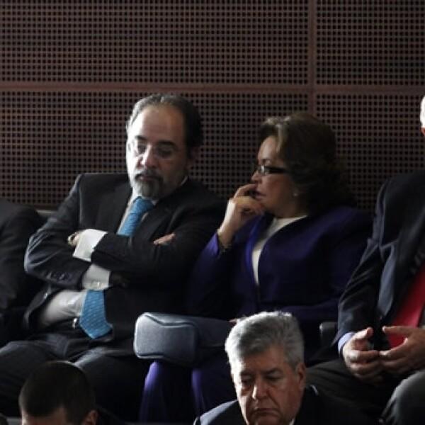 Elba Esther Gordillo Luis Castro nueva Alianza