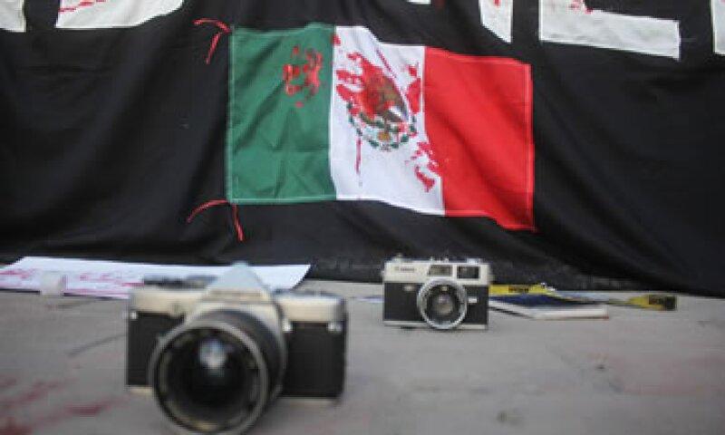 Según el Comité de Protección a Periodistas, ocho periodistas mexicanos se han exiliado desde 2010. (Foto: Cuartoscuro/Archivo )