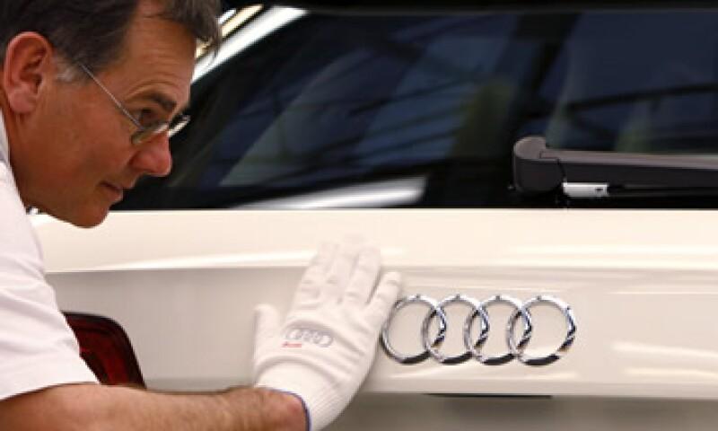 Audi estima que la planta en Puebla produzca 150,000 unidades premium. (Foto: Reuters)