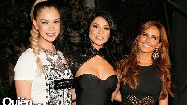 Carolina Miranda, María Fernanda Quiroz y Karla Díaz Leal