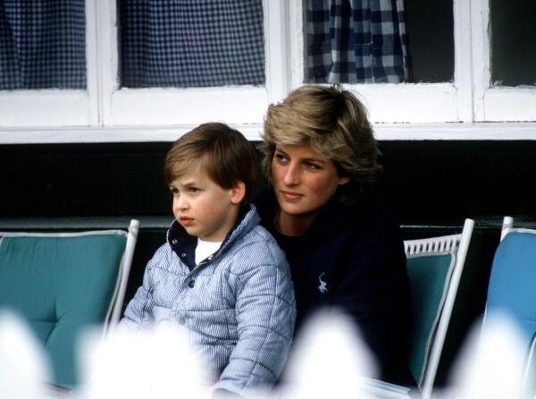 Diana de gales y William