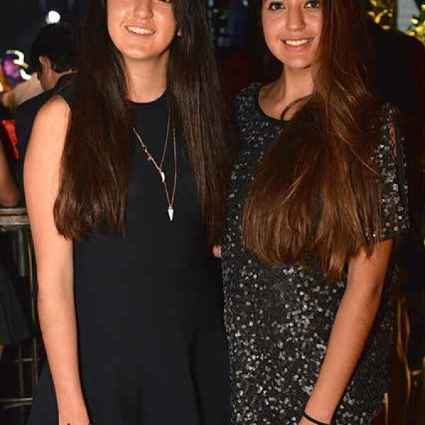 Fernanda y Paulina Paniagua.