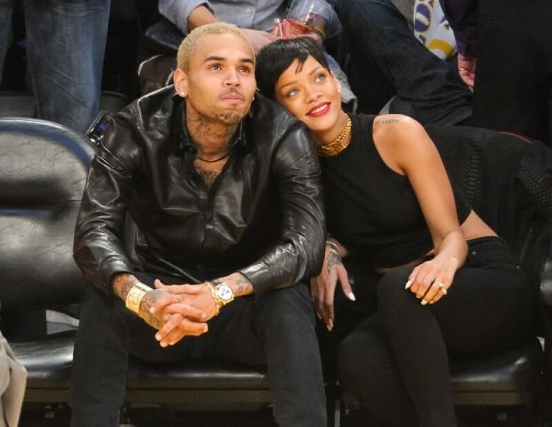 Rihanna y Chris retomaron su relación en 2012.