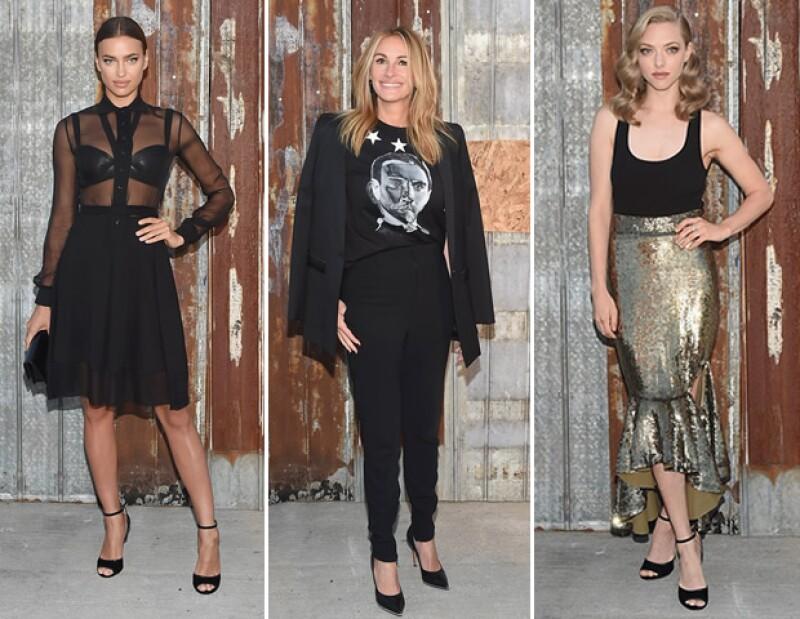Algunas de las A-Listers de Givenchy.
