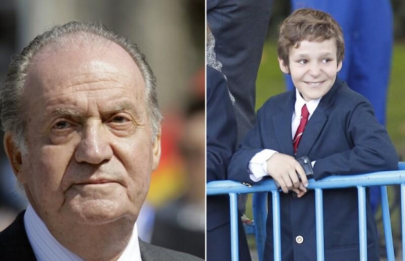 El nieto del Rey de España se recupera favorablemente pero parece que lo que realmente le quita el sueño es que su abuelo esté molesto.