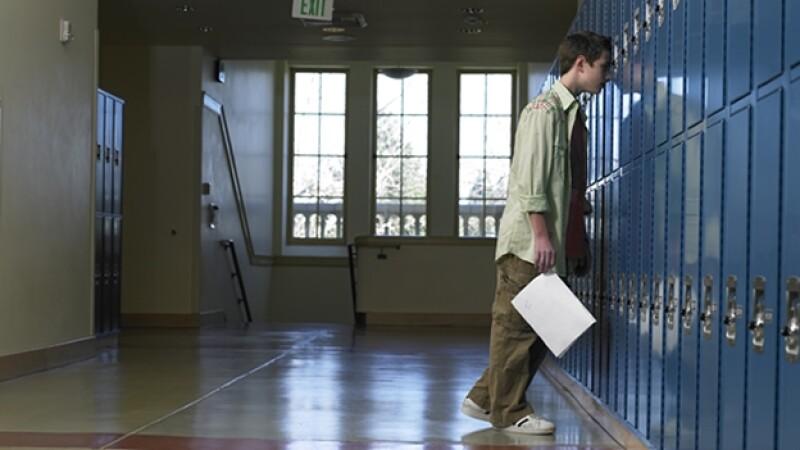 adolescente deprimido depresion escuela bullying