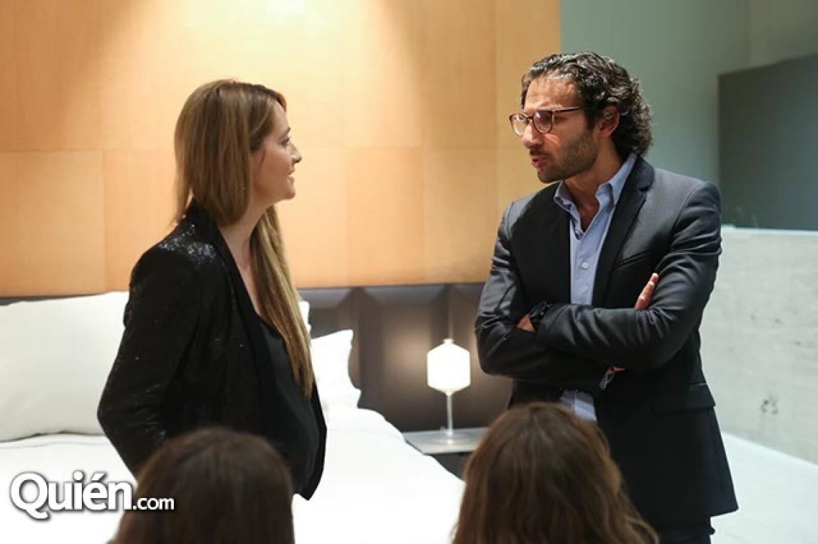 Sary Esses y Elias Levy