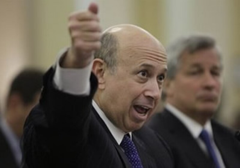 Lloyd Blankfein, presidente ejecutivo de Goldman Sachs. (Foto: AP)