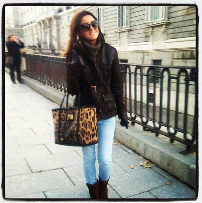 Alexandra Pereira podía pasar antes por una blogger cualquiera.