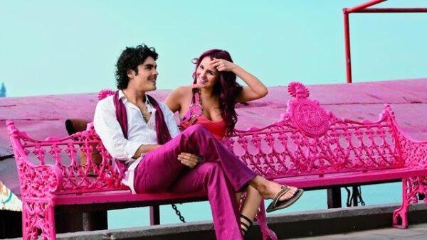 Gonzalo, de 27 años, y Dulce, de 23, han hecho gran amistad desde que comenzaron a rodar la telenovela Verano de amor.