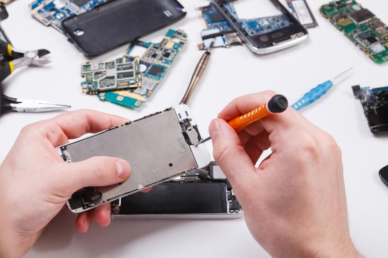 Reparación de celulares.