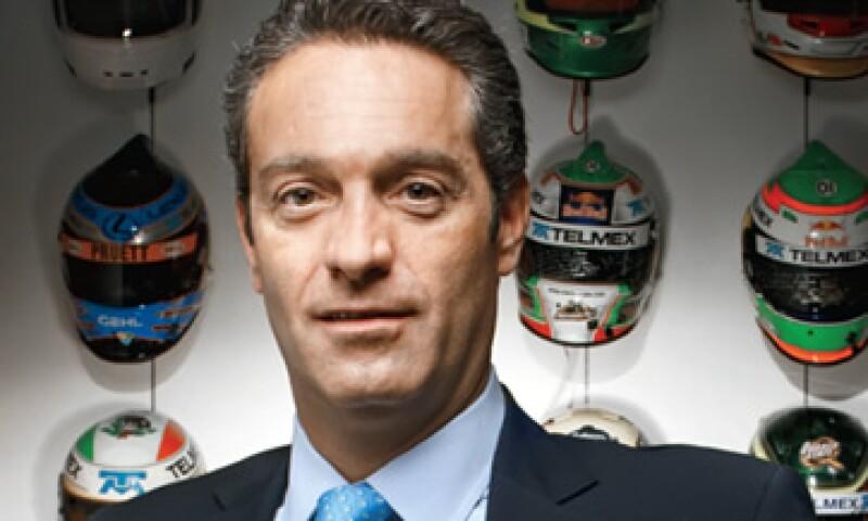 Carlos Slim Domit busca en las carreras de Fórmula 1 una ventana global para mostrar sus marcas. (Foto: Duilio Rodríguez)