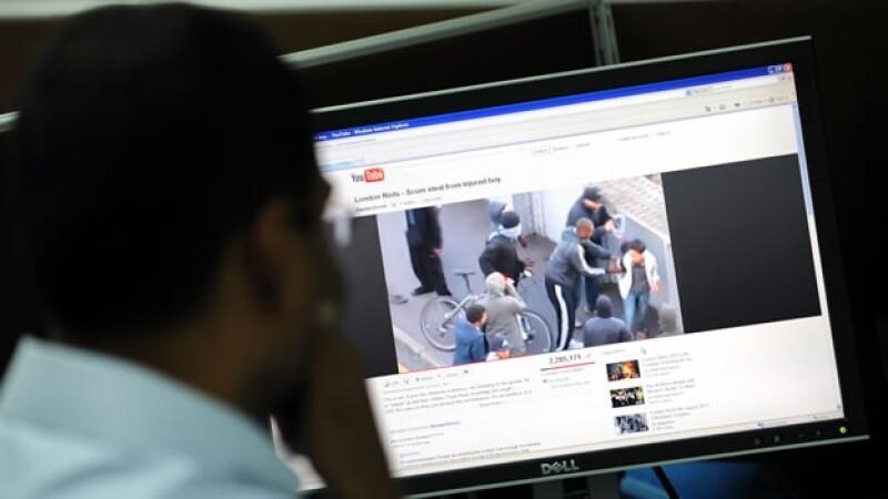 redes sociales youtube policia